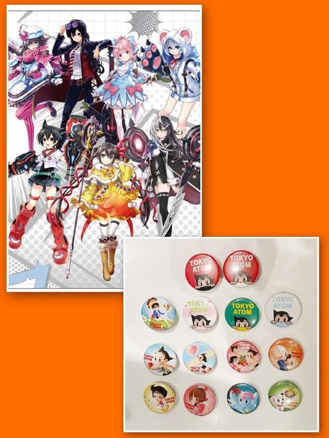 絵師神の絆セット、「TOKYO ATOM」オリジナル缶バッジセット(全14種セット)プレゼント!