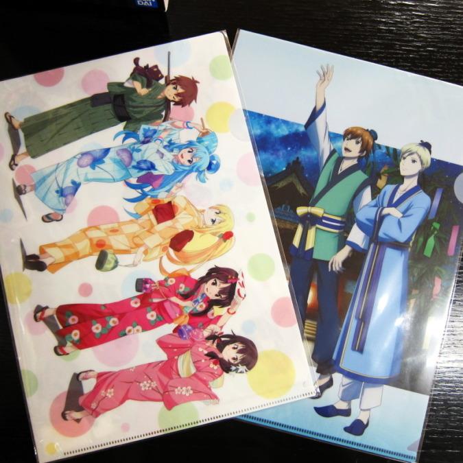 【神田明神物販店】「このすば」と「スタミュ」のクリアファイルを合計15名様にプレゼント!