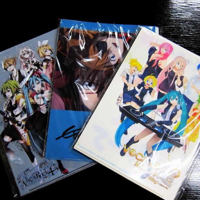 【TRIO】人気アニメクリアファイルセット×3名様